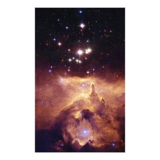 Cúmulo de estrellas Pismis 24 en la nebulosa NGC 6 Fotografías