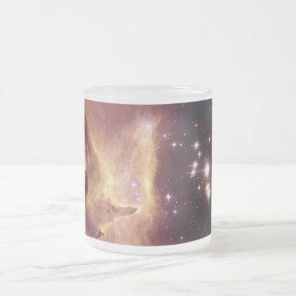 Cúmulo de estrellas Pismis 24 en la nebulosa NGC Taza De Cristal