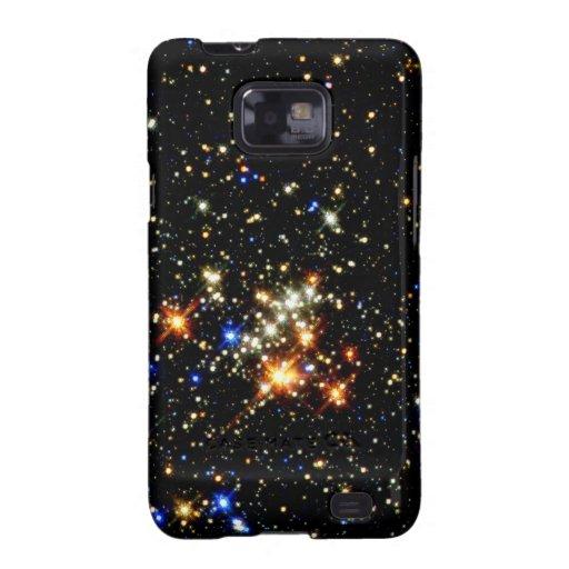 Cúmulo de estrellas samsung galaxy s2 fundas