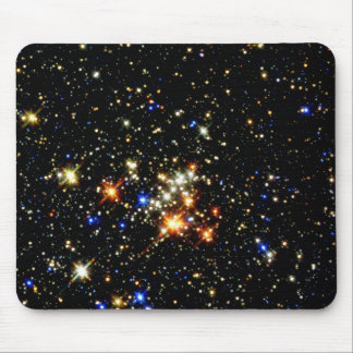 Cúmulo de estrellas tapete de ratón