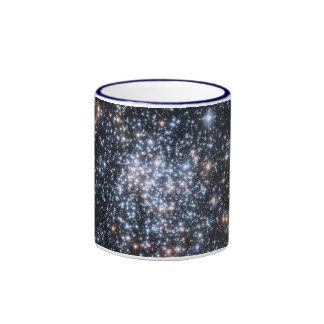 Cúmulo de estrellas taza de dos colores