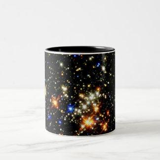 Cúmulo de estrellas taza de dos tonos