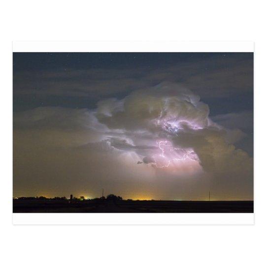 Cumulonimbus Cloud Explosion Postcard