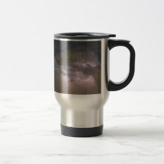 Cumulonimbus Cloud Explosion Travel Mug