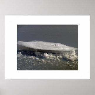 Cumulonimbus Cloud Over Africa Poster