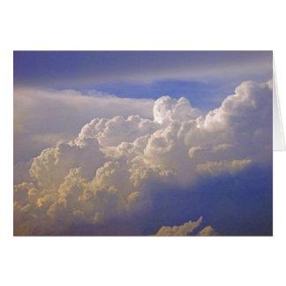 Cumulonimbus Clouds Card