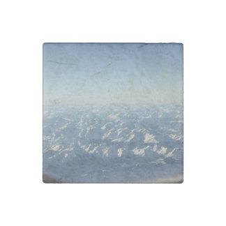 Cumulonimbus  from plane window stone magnet