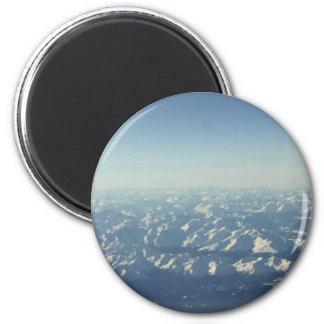 Cumulonimbus  from plane window 6 cm round magnet