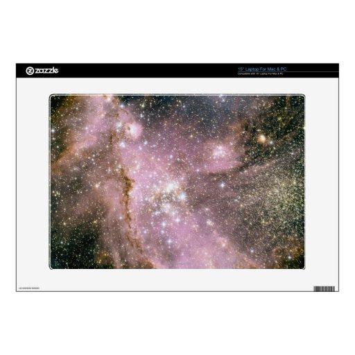 Cúmulos de estrellas calcomanía para portátil