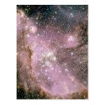 Cúmulos de estrellas postales