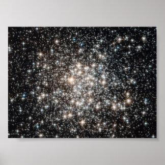 cúmulos de estrellas póster