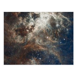 Cúmulos de estrellas tarjeta postal
