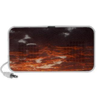 Cumulus Clouds At Sunrise. Fremont River Valley iPod Speaker