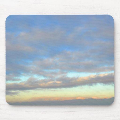 cumulus clouds mousepad