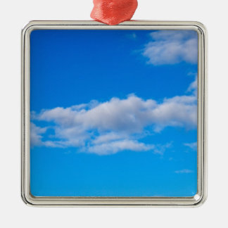 cumulus clouds over the western Antarctic Metal Ornament