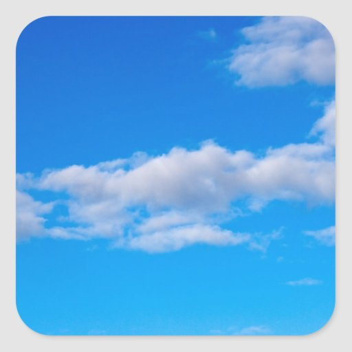cumulus clouds over the western Antarctic Sticker
