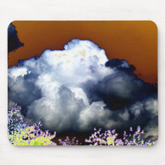 Cumulus congestus and Storm Clouds With Tea Colore Mouse Pad