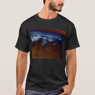 Cumulus humilis and Martian Looking Topography and T-Shirt