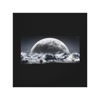 Cumulus Moon Canvas Print