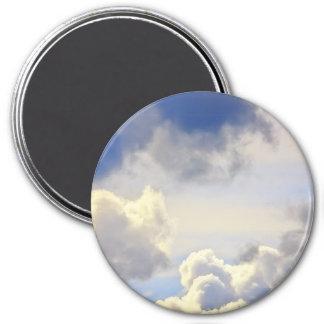 Cumulus storm. refrigerator magnet