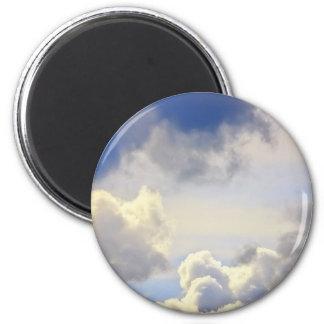 Cumulus storm. fridge magnet