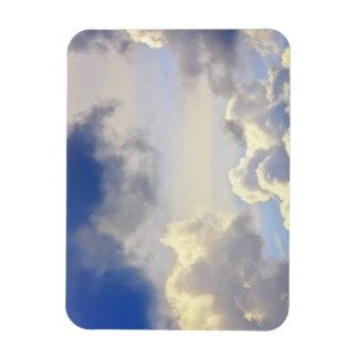 Cumulus storm. flexible magnet