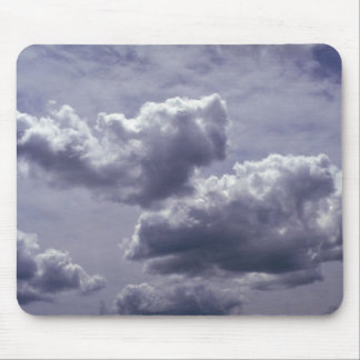 Cumulus with altostratus behind it mouse pad