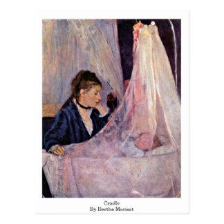 Cuna de Berthe Morisot Postal