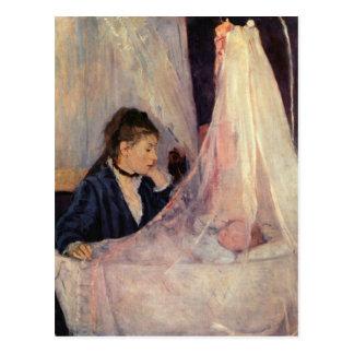 Cuna de Berthe Morisot Tarjeta Postal