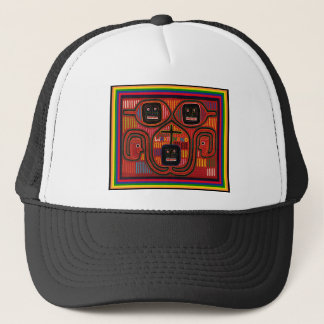 Cuna Tribal Design Trucker Hat