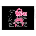 Cuñada - cinta del cáncer de pecho felicitación