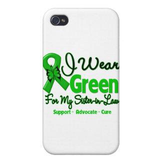 Cuñada - cinta verde de la conciencia iPhone 4 coberturas