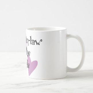 Cuñada de la novia taza de café