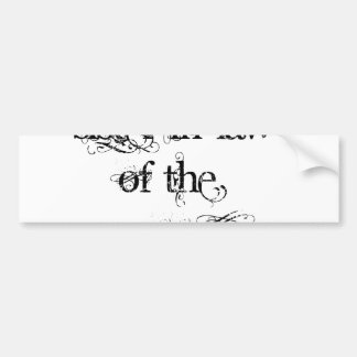 Cuñada del novio etiqueta de parachoque
