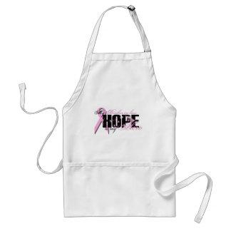 Cuñado mi héroe - esperanza del cáncer de pecho delantal