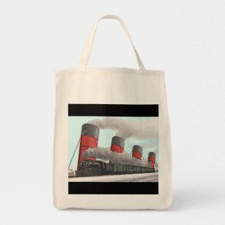 Cunard Comparison Grocery Tote Bag