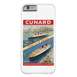 Cunard Europe to all America Barely There iPhone 6 Case