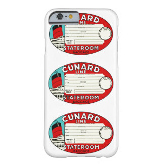 Cunard Line Luggage Label Barely There iPhone 6 Case