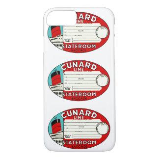 Cunard Line Luggage Label iPhone 8/7 Case