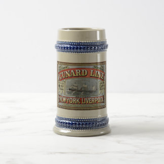 Cunard Line New York Liverpool Stein