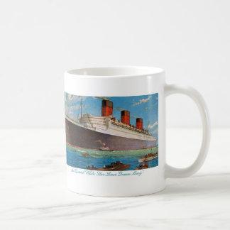 Cunard White Star Line's Queen Mary Coffee Mug
