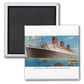 Cunard White Star Line's Queen Mary Magnet