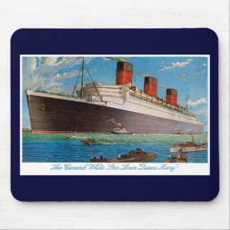 Cunard White Star Line's Queen Mary Mouse Pad