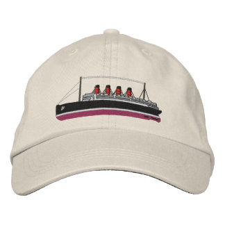 Cunarder Embroidered Hats