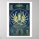 Cundi Avalokitasvara Ming Dynasty Poster