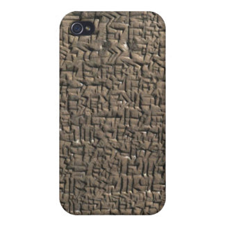 Cuneiform iPhone 4 case