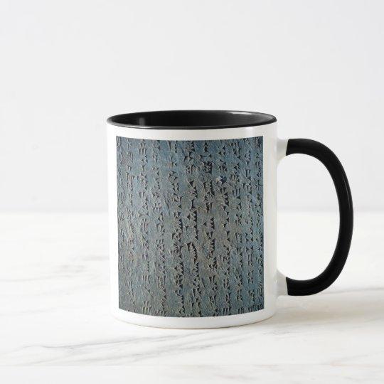Cuneiform script mug