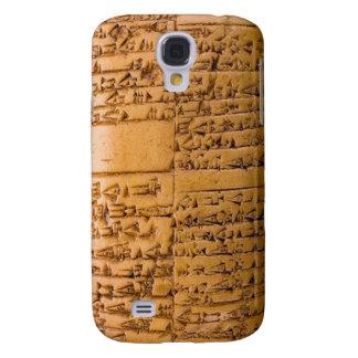 Cuneiform Tablet Galaxy S4 Covers