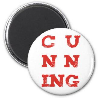 cunning 2 inch round magnet