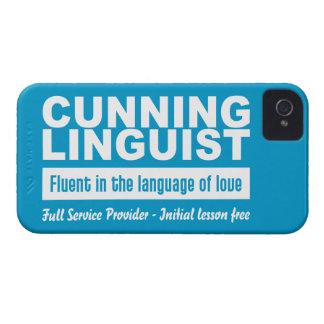 Cunning Linguist custom Blackberry Bold case